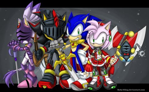 sonic & knights