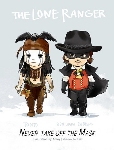 the lone ranger ♥