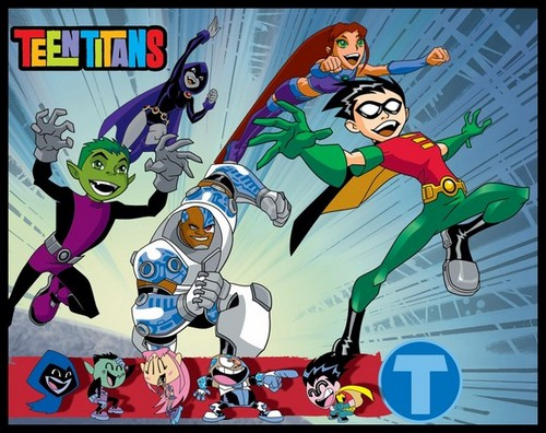 teen titans wallpaper with anime entitled the teentitans