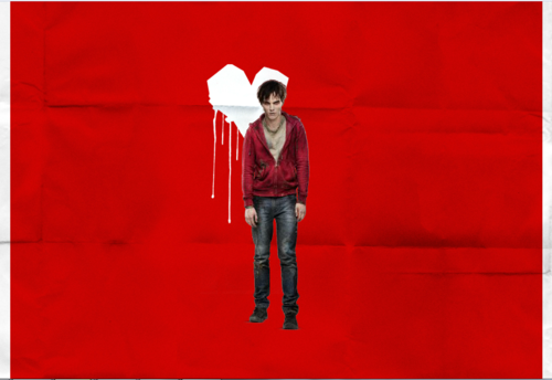 Warm Bodies Movie Обои probably with an outerwear, a playsuit, and a well dressed person titled warm bodies