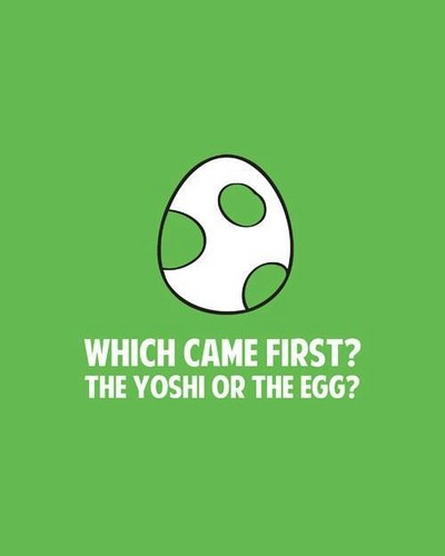 yoshi یا the egg