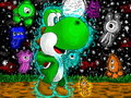 Yoshi colors! - deviantart fan art