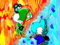 The_yoshi vs Glacies two - deviantart fan art