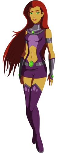 Teen Titans vs. Young Justice Hintergrund entitled young justice starfire