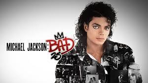 """25th"" Annversary Edition Of ""BAD"" Logo"