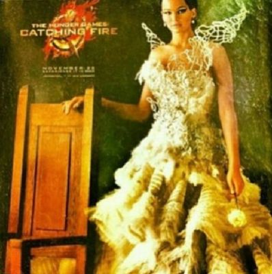 katniss the girl on fire opening ceremony