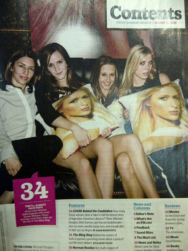 Entertainment Weekly - March 2013 - The Bling Ring