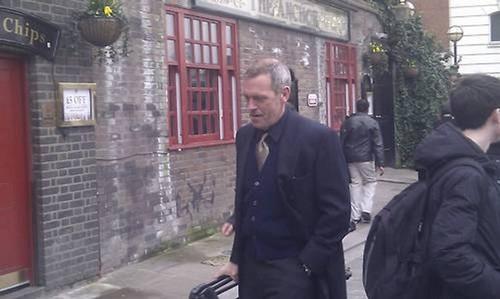 Hugh Laurie. London, March 6, 2013
