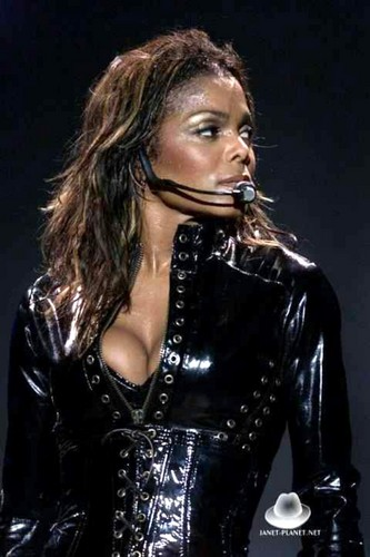 Janet Jackson wallpaper possibly containing a hip boot and a bustier called (JDJ)