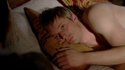 Bradley James wallpaper possibly with a neonate and skin entitled ''Merlin''_4 season