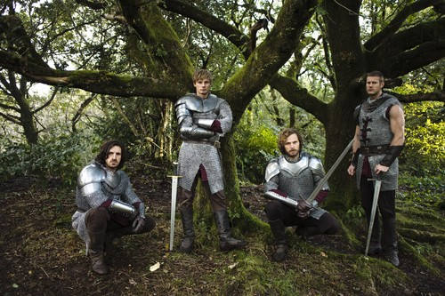 Bradley James wallpaper with a breastplate, an armor plate, and a fauld called ''Merlin''_5 season