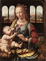 'The Madonna of the Carnation' by Da Vinci, c.1480