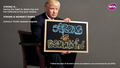 Donald Trump in Strong Is Beautiful: Celebrity Campaign - wta photo
