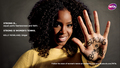 Kelly Rowland in Strong Is Beautiful: Celebrity Campaign