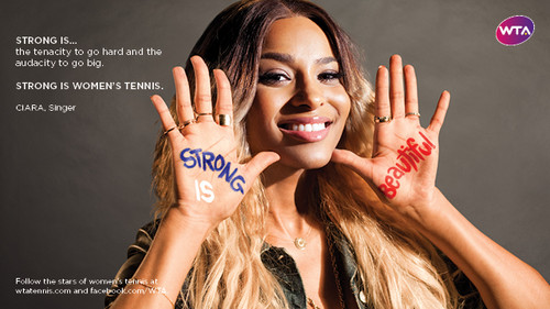 Сиара in Strong Is Beautiful: Celebrity Campaign
