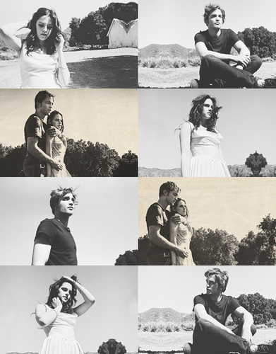 'when i looked at Robert, it was like i could look into his दिल & he could do the same' ~Kristen