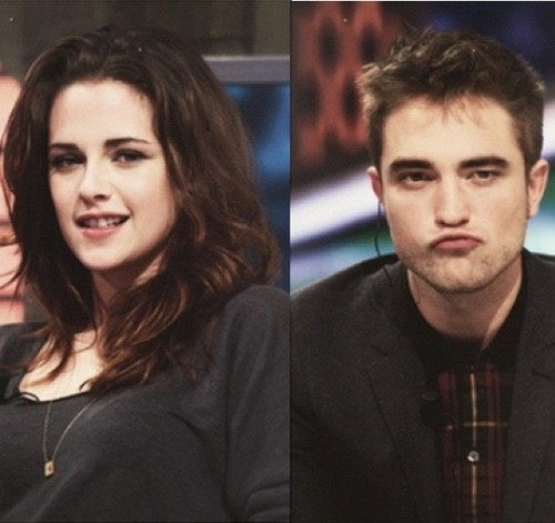 'when i looked at Robert, it was like i could look into his herz & he could do the same' ~Kristen