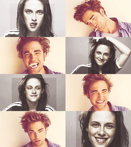 'when i looked at Robert, it was like i could look into his сердце & he could do the same' ~Kristen