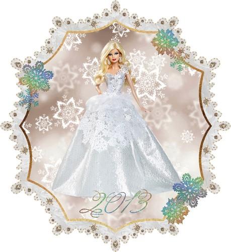 2013 Holiday 芭比娃娃