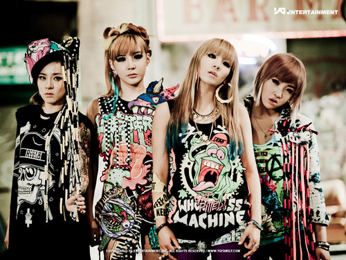 Kpop wallpaper titled 2ne1