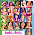All Main Characters on Barbie فلمیں