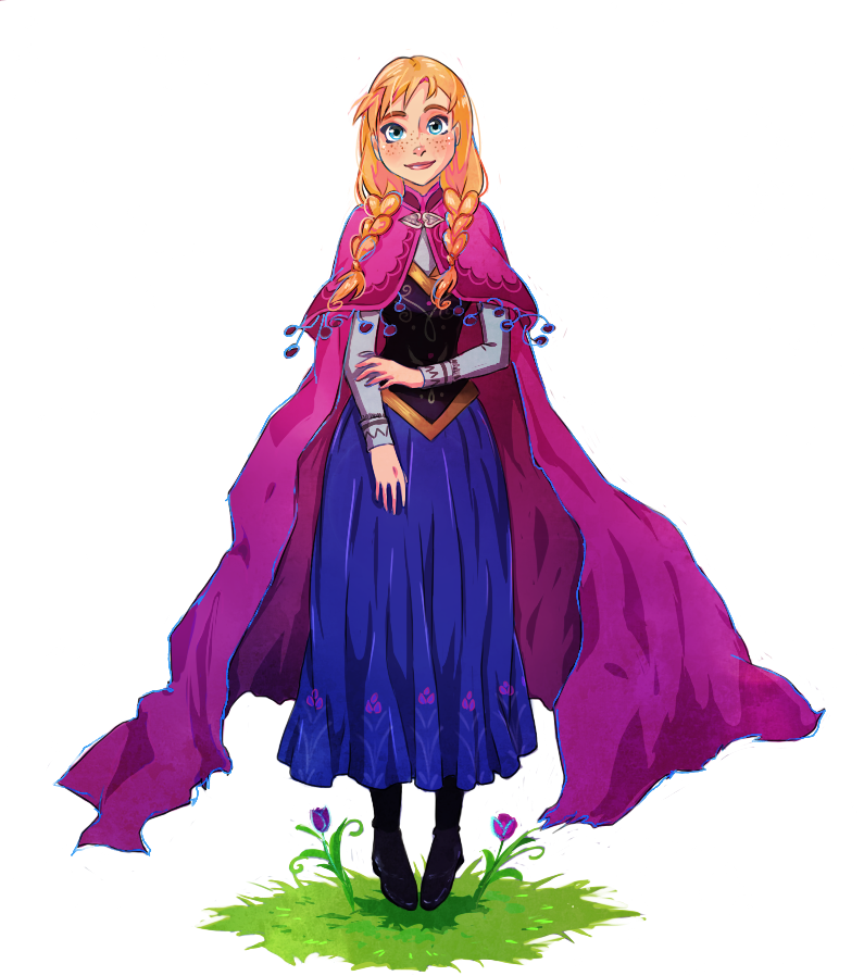 Anna frozen fan art 33861540 fanpop - Frozen anna disney ...
