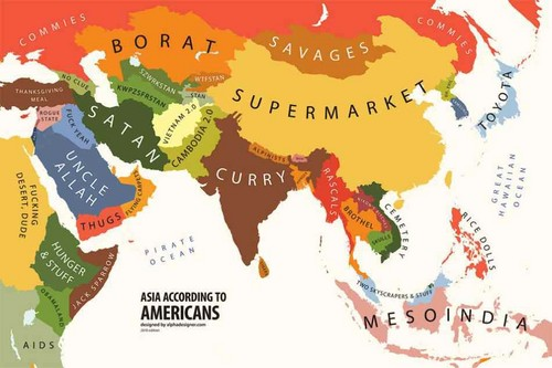 Asia according to America