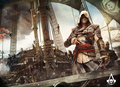 Assassin's Creed 4 : Black Flag - assassins-creed fan art
