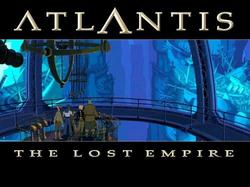 Atlantis The Lost Empire پیپر وال