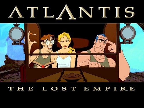 Atlantis The ロスト Empire 壁紙