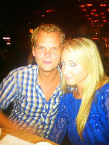 Avicii and his prostitute Emily Goldberg