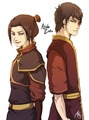 Azula and Zuko - avatar-the-last-airbender photo