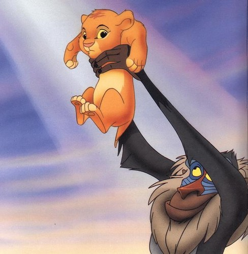 the lion king wallpaper called Baby Simba