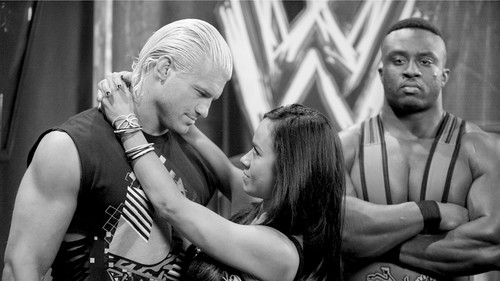 Backstage Peek: AJ Lee,Dolph Ziggler,Big E Langston