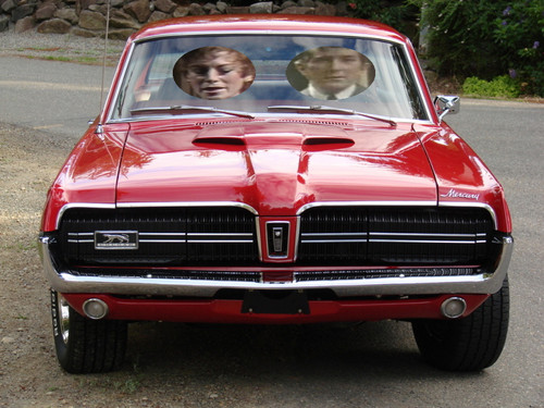 Barnabas and Julia Go Driving