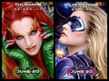 Batgirl and Poison Ivy posters
