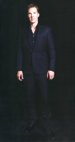 """Benedict in """"FLIX"""" Magazine (04/2013)"""
