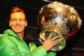 Berdych and DC trophy - tennis photo