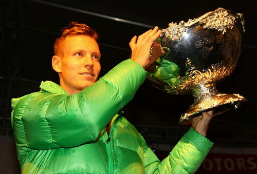 Berdych and DC trophy