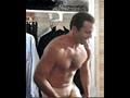 Bruce putting on pants - bruce-willis photo