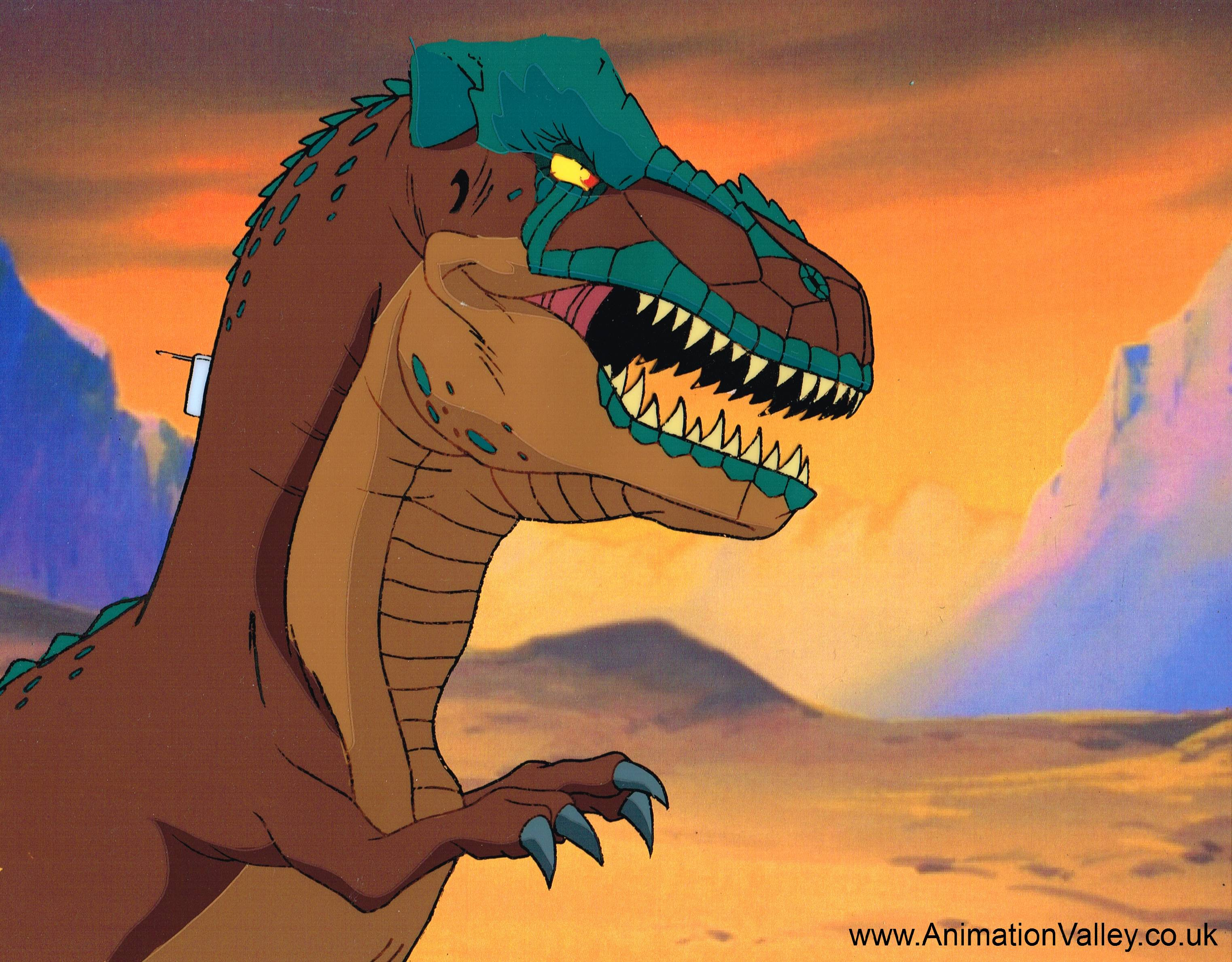 cadillacs and dinosaurs production cel animation cels photo. Cars Review. Best American Auto & Cars Review