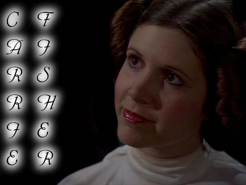 Carrie as Leia