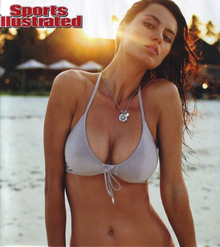 Catrinel Menghia Sports iIllustrated hot Romania model