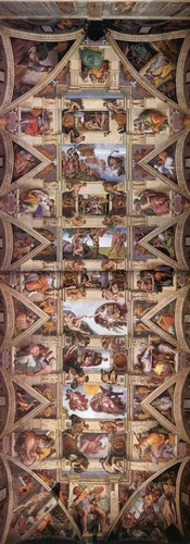 Ceiling of the Sistine Chapel sa pamamagitan ng Michelangelo