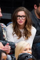 Celebrities At The Lakers Game - Katie Cassidy (March 8)