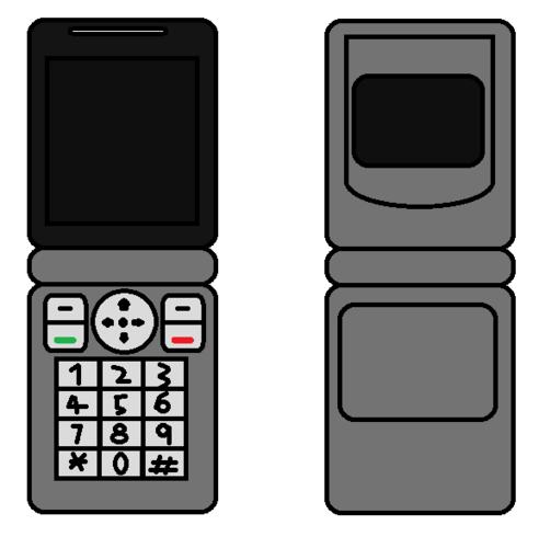 Cellphone Flip Grey