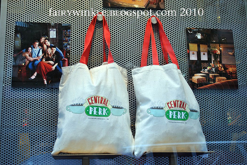 Central Perk tote bags!