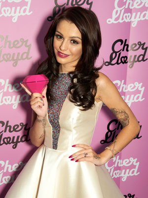 Cher Lloyd 담홍색, 핑크 Diamond♥