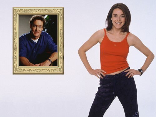 Christa Miller wallpaper probably containing a pantleg, bellbottom trousers, and long trousers called Christa Miller