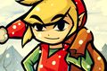 Christmas Toon Link - the-legend-of-zelda fan art